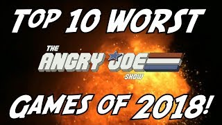 Top 10 WORST Games of 2018!