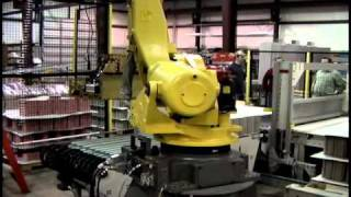 Press to Pallet Robot System
