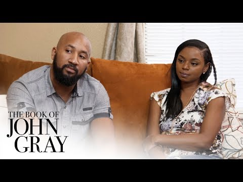 John and Aventer Counsel a Couple With Trust Issues In Their Marriage | Book of John Gray | OWN