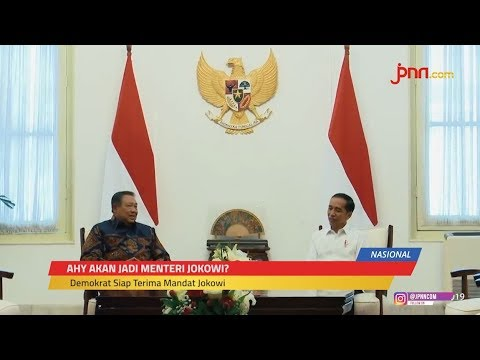 AHY Jadi Menteri Jokowi? Dengerin Dulu Kata Waketum Demokrat