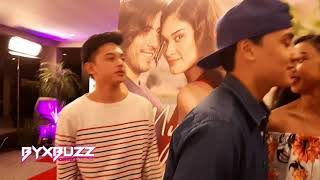 Full Video of MayWard, Marco Gallo and Jeremy Glinoga at the My Perfect You Red Carpet Premiere