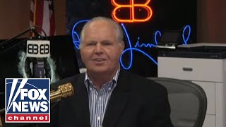 Limbaugh on citizenship question, Dem division, Betsy Ross flag flap