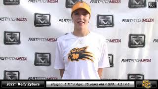 2022 Kelly Zybura - 4.2 GPA - Athletic Pitcher Softball Skills Video - Ca Suncats