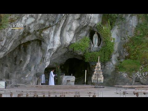 Chapelet à Lourdes du 8 avril 2020