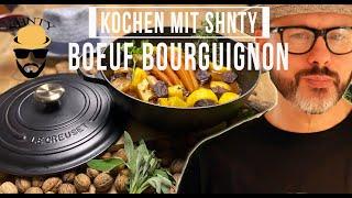 Boeuf Bourguignon Rezept im Le Creuset!