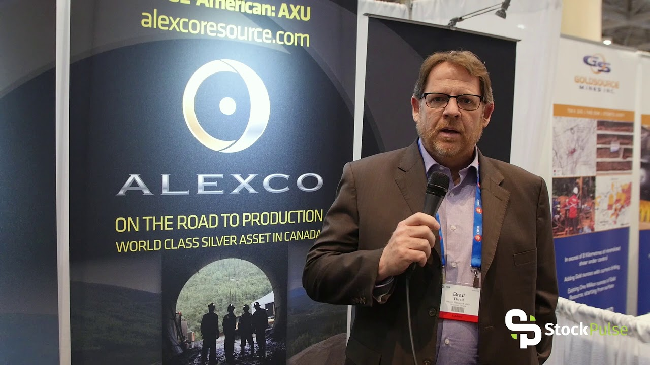 Alexco Resources Catalyst Clip with President Brad Thrall at the 2018 PDAC in Toronto