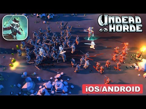 UNDEAD HORDE - Android / iOS Gameplay - Mobile Game