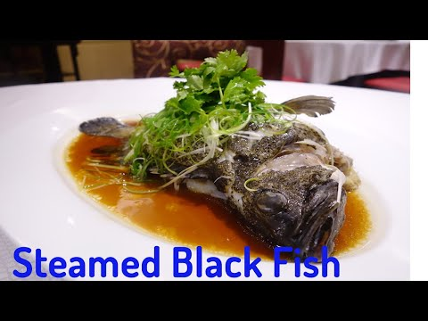 Yummy Steamed Black Snapper/Cooking Recipe : Chef Sokphal /ចំហ៊ុយត្រីក្អែក