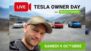 Tesla Owners Day 2021 : le grand rassemblement Tesla en Live !