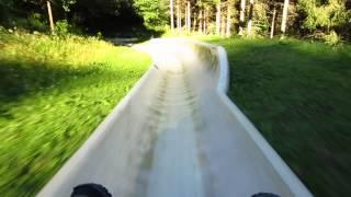 preview picture of video 'Sommerrodelbahn Biberg/Salzburg'