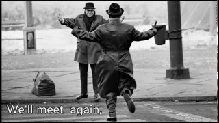 We'll Meet Again-Frank Sinatra w/Lyrics (Berlin Wall Tribute)