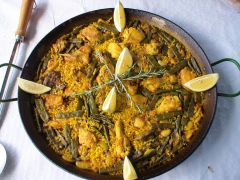 Receta Paella Valenciana, la autentica receta de Valencia. Loli Dominguez