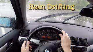 POV RainDrifting BMW E46 Turbo Diesel