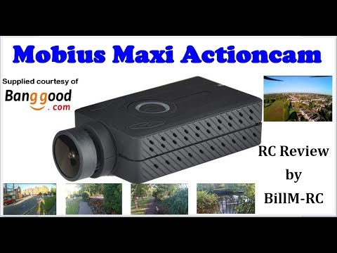Mobius Maxi review incl test clips & aerial video on a drone