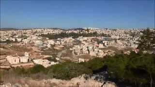 preview picture of video 'Galilee: Nazareth and Cana, Israel, November 6, 2014'