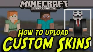 Minecraft Pocket Edition 0.11.0 - UPLOAD CUSTOM SKINS! Update (iPhone, iPad, iOS) NO JAILBREAK