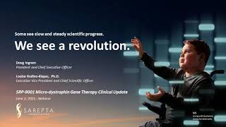 Webinar: SRP-9001 Micro-Dystrophin Gene Therapy Clinical Update (June 2, 2021)