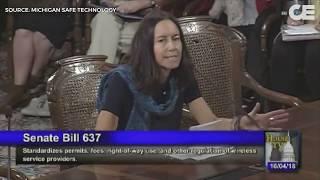 5G : intervention d'une médecin américaine au Sénat