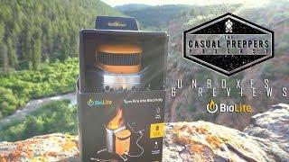 Biolite Campstove 2 Unboxing & Review