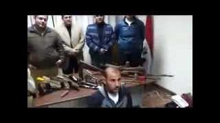 preview picture of video 'ضبط ورشة لتصنيع وتجهيز الاسلحة بمركز الزرقا'