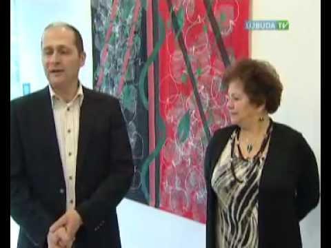Újbudai Mozaik: Czeglédi Júlia munkái az Újbuda Galériában. Televízió Újbuda, 2012
