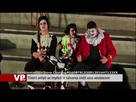 Tinerii artiști se implică în salvarea vieții unui adolescent