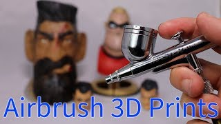 Learning To Airbrush 3D Prints