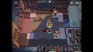 Nearl  - (Arknights) - Arknights Operation 0-9 (Nearl) Gameplay