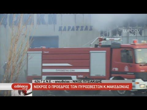 Νεκρός ο πρόεδρος των πυροσβεστών Μακεδονίας | 01/03/2019 | ΕΡΤ
