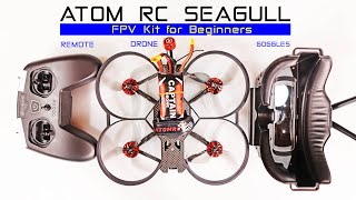 All in One FPV Drone Kit - Eachine ATOMRC Seagull - Review