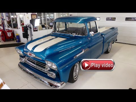 Video of Classic '58 Chevrolet Apache located in Ohio Offered by Cruisin Classics - QZOB