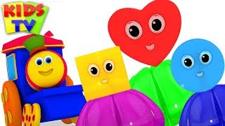 Learn Colors & Shapes with Bob Fun Series | Preschool Learning Videos for Kids
