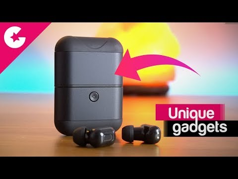 Unique Gadget - Bluetooth Earphones that Can Charge Your Phone Too!