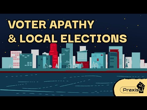 Voter Apathy & Local Elections