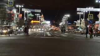 Пример видео, снятого на Nikon D5100 KIT 18-55 VR ночью
