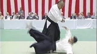 Masatake Fujita Sensei at the 39th All-Japan Aikido Demonstration