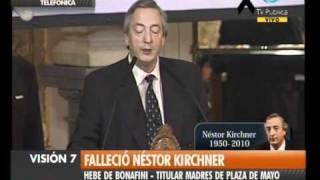 Visión Siete Falleció Néstor Kirchner 33