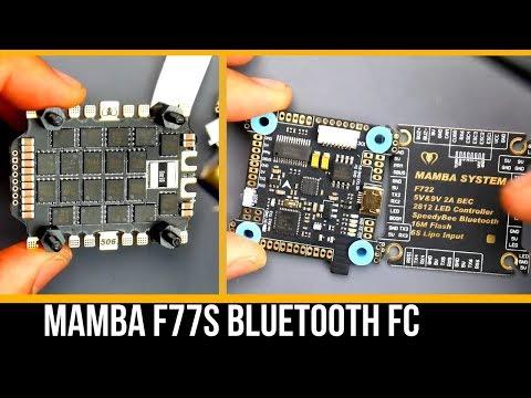 MAMBA F722S Flight Controller // Bluetooth, F7, 9V Reg and More
