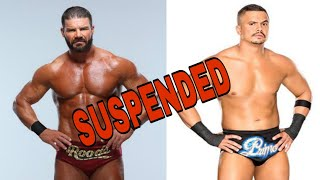 WWE suspends Bobby Roode and Primo Colon || WWE