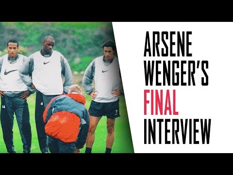 Arsene Wenger's FINAL interview   Part 2 – Vieira Henry Messi and Pique