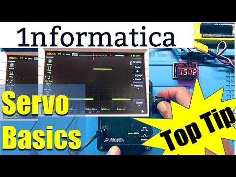 Servo Basics PWM Tester Display Frequency Monitor