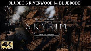 SKYRIM SE MODS - Blubbo's Riverwood by BlubboDE   Ultra Modded realistic Next Gen Graphics [4K]