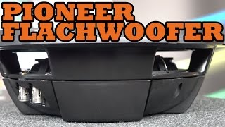 Pioneer TS-SW2002D2 TS-SW2502S4 TS-SW3002S4 Flachwoofer in 20cm 25cm und 30cm - just-SOUND