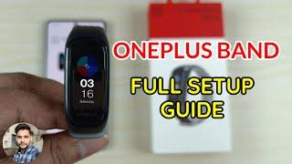 OnePlus Band : Full Setup Guide