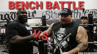 BENCH BATTLE - BIG BOY vs M-TOWN MONSTA