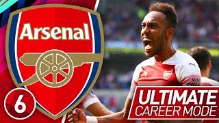 FIFA 19 ARSENAL CAREER MODE #6 | AUBAMEYANG IS ON FIRE! (ULTIMATE DIFFICULTY)