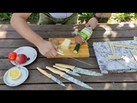 Набор кухонных ножей Homefavor в подарочной упаковке / HomeFavor kitchen knife set in gift wrapping