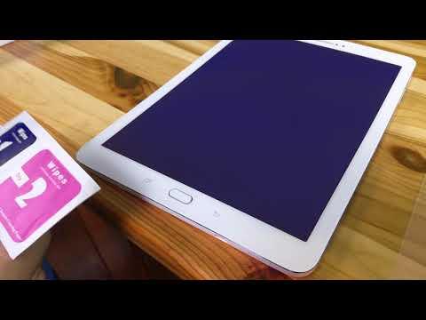 Samsung Galaxy Tab S2 Schutzfolie Unboxing und Anbringen [4K]
