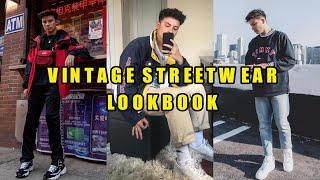 Vintage Streetwear Lookbook   Mens Fashion