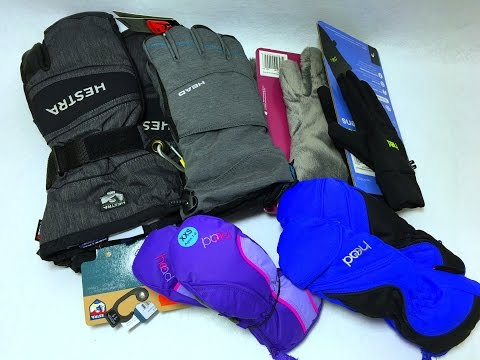 Ski and Snowboard Gloves Haul for Men Women Kids Hestra / Head / Get Ready for winter